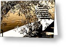 At The Lake-44 Greeting Card