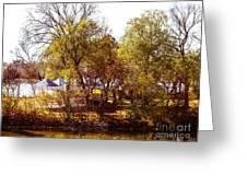At The Lake-45 Greeting Card