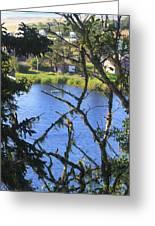 At The Oregon Coast Greeting Card