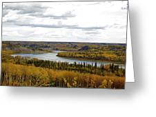 Athabasca Fall Greeting Card