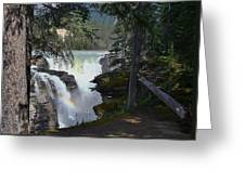 Athabasca Falls 2 Greeting Card