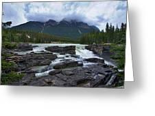 Athabasca Falls #3 Greeting Card