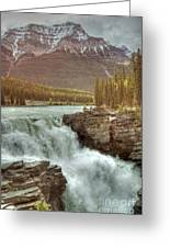 Athabasca Falls Greeting Card