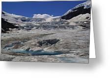 Athabasca Glacier 1 Greeting Card