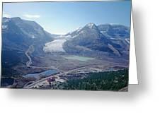 1m3735-athabasca Glacier Greeting Card