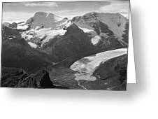 T-303504-bw-athabasca Glacier In 1957  Greeting Card