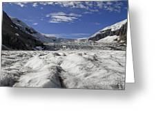 Athabasca Glacier Greeting Card