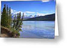 Athabasca River Scenery Greeting Card