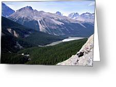 Athabasca River Valley Greeting Card