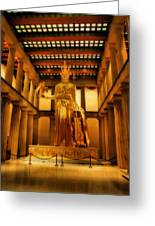 Athena Parthenos Greeting Card