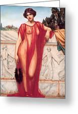 Athenais Greeting Card