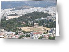 Athens 3 Greeting Card