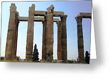 Athens 4 Greeting Card