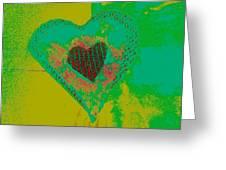 Athlone Heart Greeting Card by Dorothy Rafferty