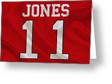 Atlanta Falcons Julio Jones Greeting Card