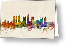 Atlanta Georgia Skyline Greeting Card