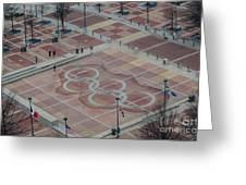 Atlanta Olympia Fountain Greeting Card