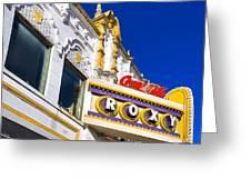 Atlanta Roxy Theatre Greeting Card by Mark E Tisdale