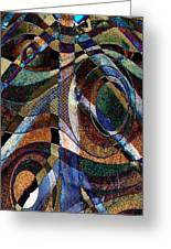 Atlanta Solis Abstract Art Greeting Card