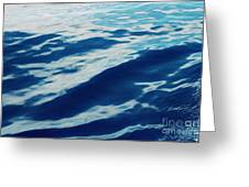 Atlantic Blue Greeting Card