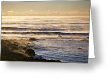 Atlantic Chill Greeting Card