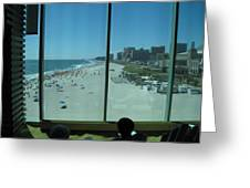 Atlantic City - 12124 Greeting Card by DC Photographer