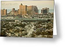 Atlantic City Greeting Card