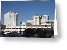 Atlantic City - Trump Taj Mahal Casino - 01133 Greeting Card