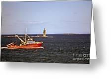 Atlantic Mariner Greeting Card