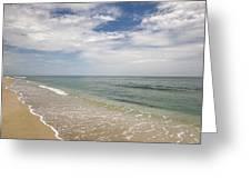 Atlantic Ocean Beach V Greeting Card