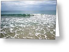 Atlantic Ocean Surf Greeting Card