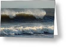 Atlantic Ocean Wave Greeting Card