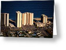 Atlantis Condominium Ocean City Md Greeting Card
