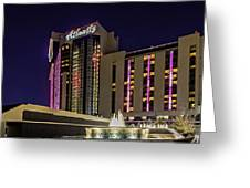 Casino Tower Greeting Card