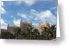 Atlantis Resort At Paradise Island Greeting Card