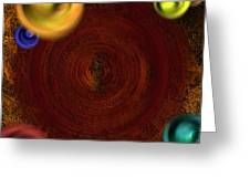 Atomic Haystack Greeting Card