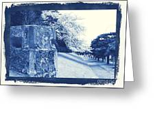 Atsugi Pillbox Walk  E Greeting Card