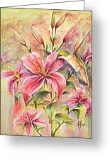 Attractive Fragrance Greeting Card