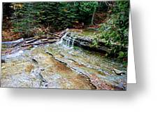 Au Train Falls II Greeting Card