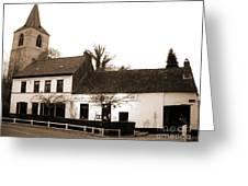 Auberge De La Roseraie Greeting Card