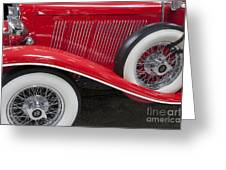 Auburn 12-161 Coupe Greeting Card