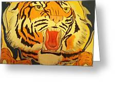 Auburn Tiger Greeting Card