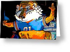 Auburn Tiger Greeting Card