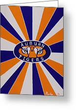 Auburn Tigers Greeting Card