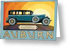 Auburn Greeting Card