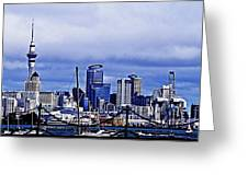 Auckland 4 Greeting Card