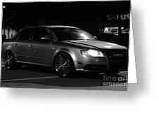 Audi 3 Greeting Card