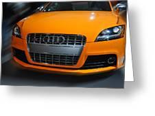 Audi  Tts Greeting Card