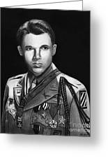 Audie Murphy Greeting Card