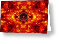 Audio Kaleidoscope Greeting Card
